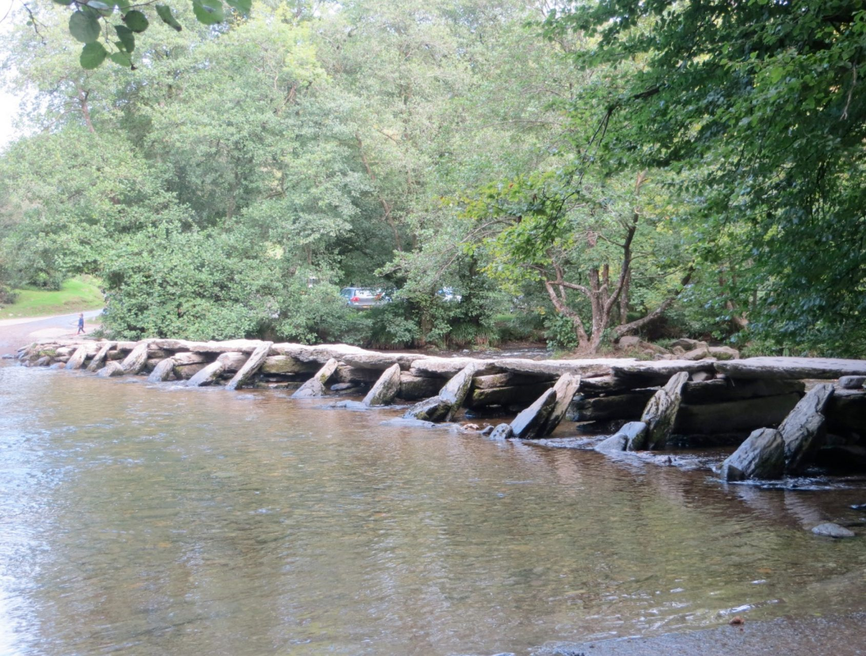 Tarr Steps on Exmoor